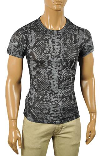 JUST CAVALLI Men's Short Sleeve Tee #149