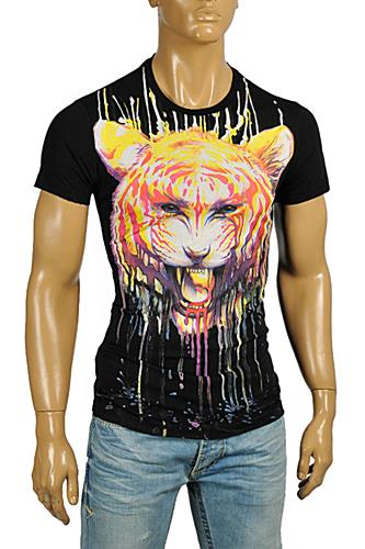 JUST CAVALLI Men's Short Sleeve Tee #164