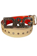 DOLCE & GABBANA Men's Leather Belt #18