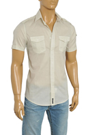 DOLCE & GABBANA Men's Short Sleeve Shirt #404