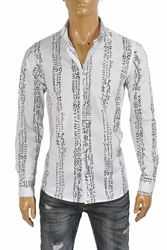DOLCE & GABBANA Men's Dress Shirt In White 473
