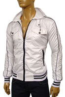 DOLCE & GABBANA Mens Zip Up Hooded Jacket #292