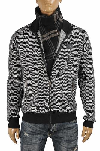 DOLCE & GABBANA Men's Zip Knitted Jacket 427