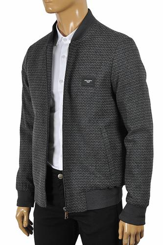 DOLCE & GABBANA men's bomber knitted jacket 435
