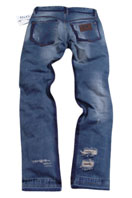 DOLCE & GABBANA Mens Washed Jeans #153