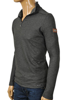 DOLCE & GABBANA Men's Long Sleeve Zip Shirt #425