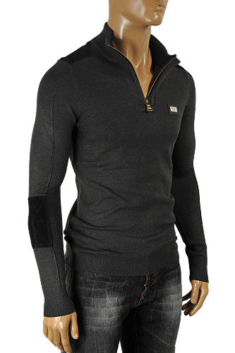 DOLCE & GABBANA Men's Knit Zip Sweater #219