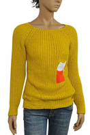DOLCE & GABBANA Ladies Round Neck Sweater #216