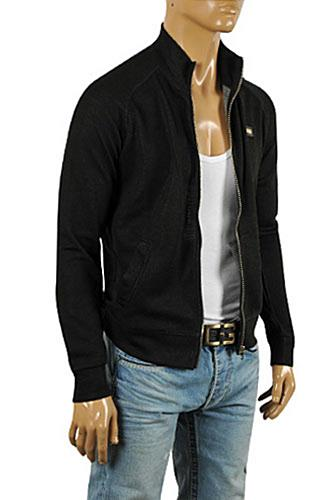 DOLCE & GABBANA Men's Knit Zip Sweater #238