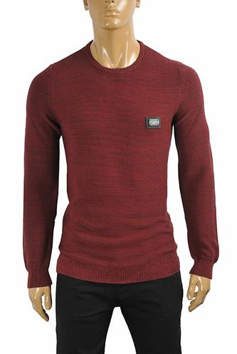 DOLCE & GABBANA men's knitted round neck sweater 249