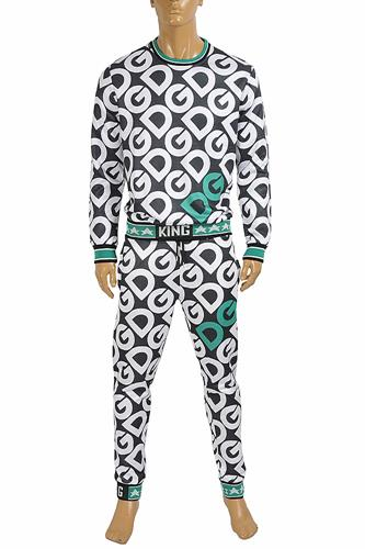 DOLCE & GABBANA men's jogging suit with logo printed 430