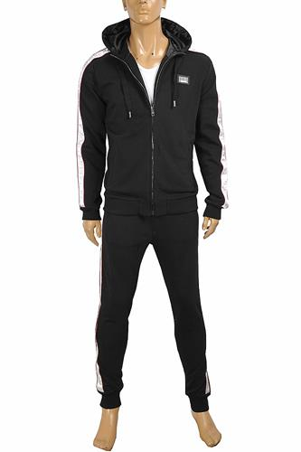DOLCE & GABBANA men's jogging suit, zip jacket and pants 432