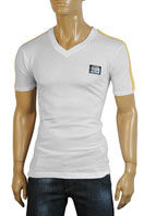 DOLCE & GABBANA V-Neck Mens Short Sleeve Tee #145