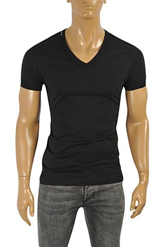 DOLCE & GABBANA Men's V-Neck T-Shirt #241