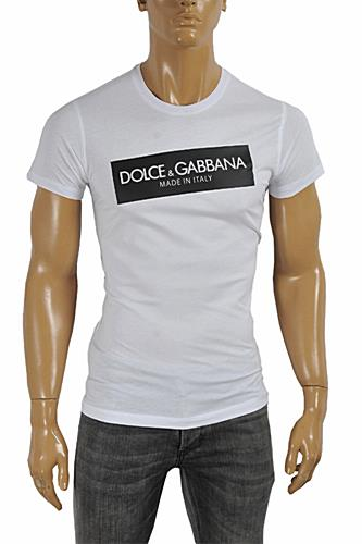 DOLCE & GABBANA Men's Printed T-Shirt #245