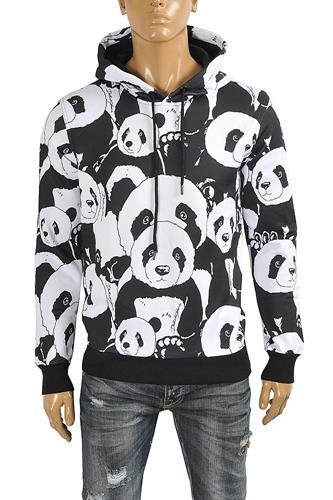 DOLCE & GABBANA men's cotton hoodie with print 253