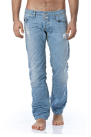 TodayFashionDiscount Mens Washed Jeans #155