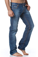 TodayFashionDiscount Mens Washed Jeans #156