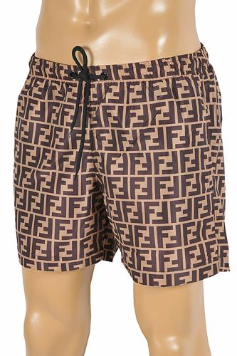 FENDI FF Print Swim Shorts for Men 93