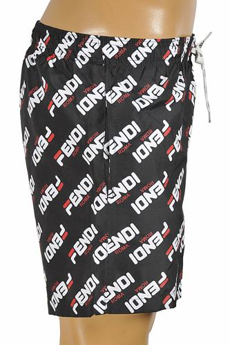 FENDI Logo Print Swim Shorts for Men 95