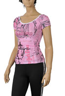 JOHN GALLIANO Short Sleeve Ladies Top #32