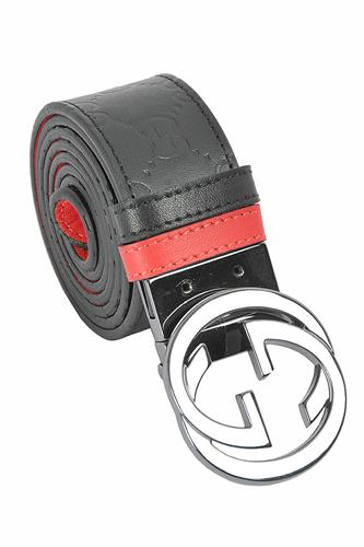 GUCCI GG men's reversible leather belt 64