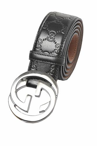 GUCCI Double G Buckle Belt In Black 56