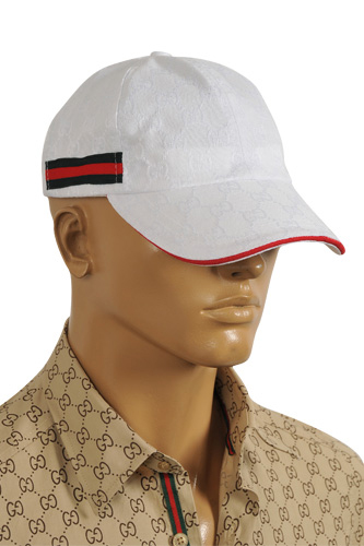 GUCCI Men's Cap In White #120