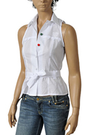 GUCCI Ladies' Sleeveless Shirt #245