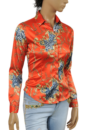 GUCCI Ladies'Button Up Dress Shirt #297