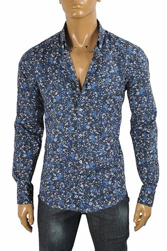 GUCCI Men's Liberty floral shirt 413