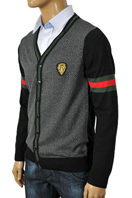 GUCCI Men's V-Neck Button Up Sweater #58