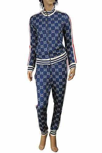 GUCCI women's jogging suit in blue 163