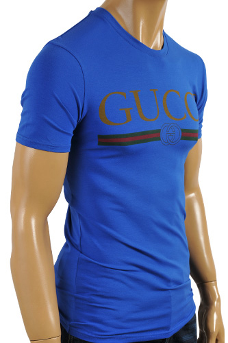 GUCCI Men's Crewneck Short Sleeve Tee #156