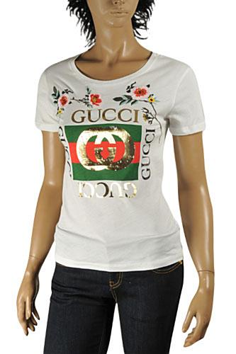 GUCCI Women's Fashion Short Sleeve Top #197