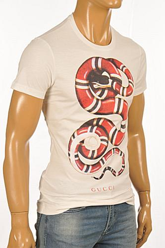 GUCCI Men's T-Shirt In White #210