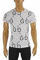 GUCCI cotton T-shirt with GG print #231
