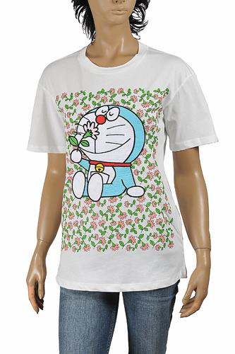 Doraemon and Gucci cotton T-shirt 295