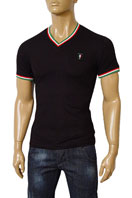 GUCCI Mens V-Neck Short Sleeve Tee #75