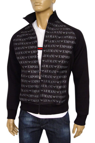 Mens Designer Clothes | EMPORIO ARMANI Mens Zip Jacket #87