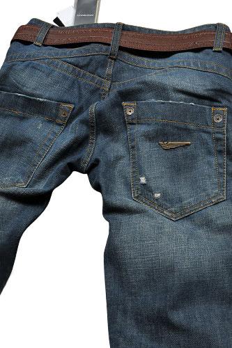 Mens Designer Clothes   EMPORIO ARMANI Men's Washed Jeans ...