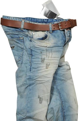 Mens Designer Clothes   EMPORIO ARMANI Men's Jeans With ...