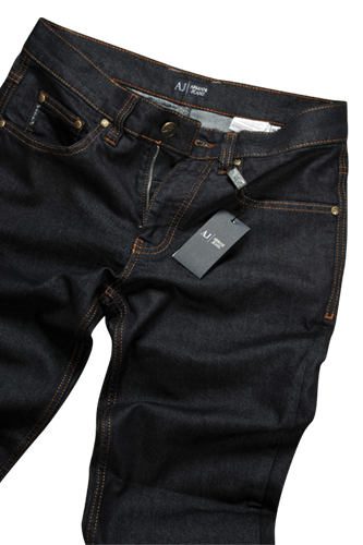 Mens Designer Clothes Armani Jeans For Men In Navy Blue 123