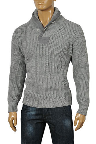 Mens Designer Clothes | EMPORIO ARMANI Men's Warm Sweater #130