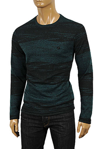 Mens Designer Clothes | EMPORIO ARMANI Men's Body Sweater #162