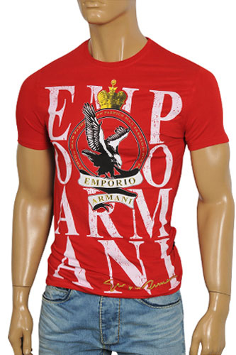 Mens Designer Clothes | EMPORIO ARMANI Men's Short Sleeve Tee #73
