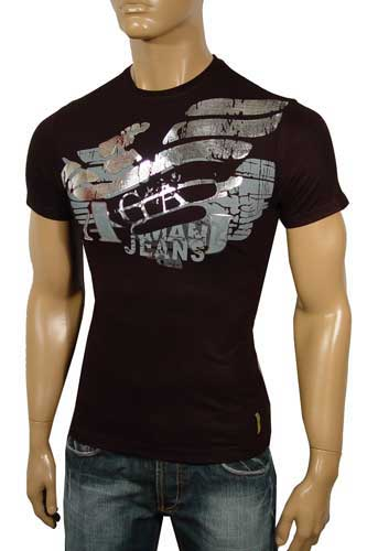 Mens Designer Clothes | ARMANI Round Neck Short Sleeve Tee #15