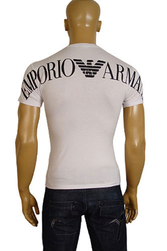 Mens Designer Clothes | EMPORIO ARMANI Mens Short Sleeve Tee #45