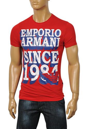Mens Designer Clothes | EMPORIO ARMANI Men's Short Sleeve Tee #67