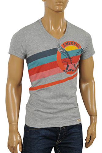Mens Designer Clothes | EMPORIO ARMANI Men's Short Sleeve Tee #88